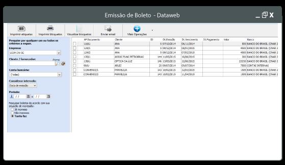 emissão-de-boletos dataweb